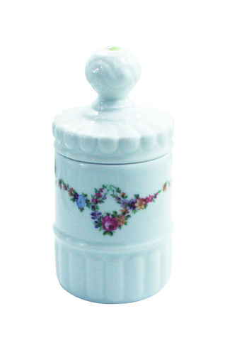 Pot PRINTEMPS en porcelaine de LIMOGES